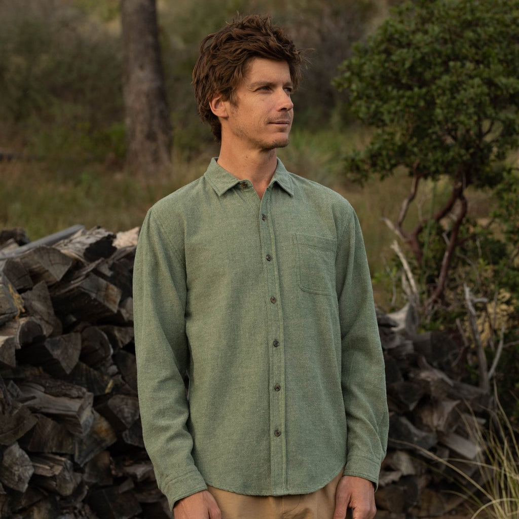 Mollusk | ONE POCKET SHIRT | forest