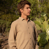 Mollusk | ONE POCKET SHIRT | tan earth