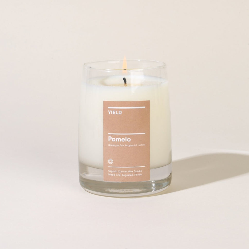 YIELD | 8 oz CANDLE | pomelo