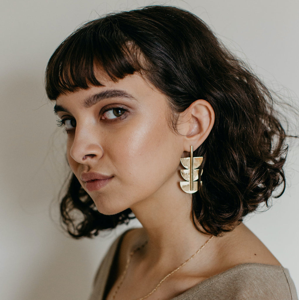 Tumble | SELAH EARRINGS | gold