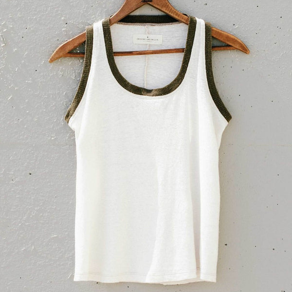 imogene + willie | CONTRAST MOJAVE SLEEVELESS RINGER