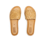 Mohinders | WOMEN'S WOVEN SANDAL | natural leather