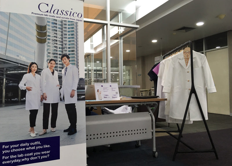 Classico Showcases its renowned lab coat at Ramathibodi Hospital