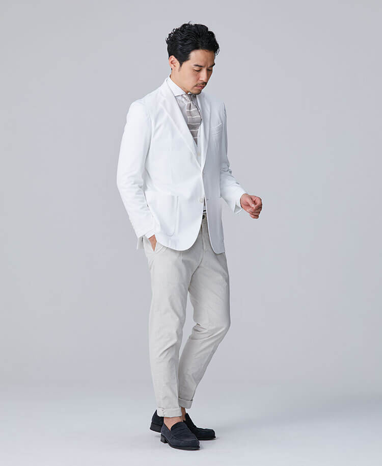 Men's Lab Coat: Tailored Jacket Cool Tech