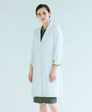 Women's Lab Coat:No Collar Plantica
