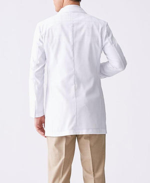 Classico Men`s Light Short Coat White Medical > Lab coats > White Coat > Light Short Coat> Men`s- Classico