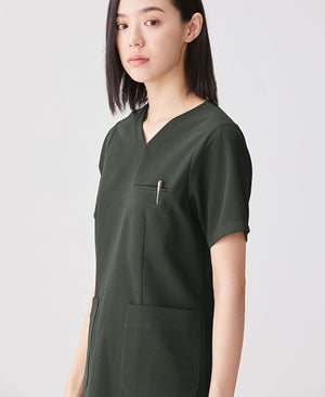 Women's Surgical Gown: Scrub Tops Cool Tech