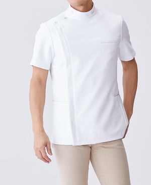 Men's Lab Coat: Urban Double Casey