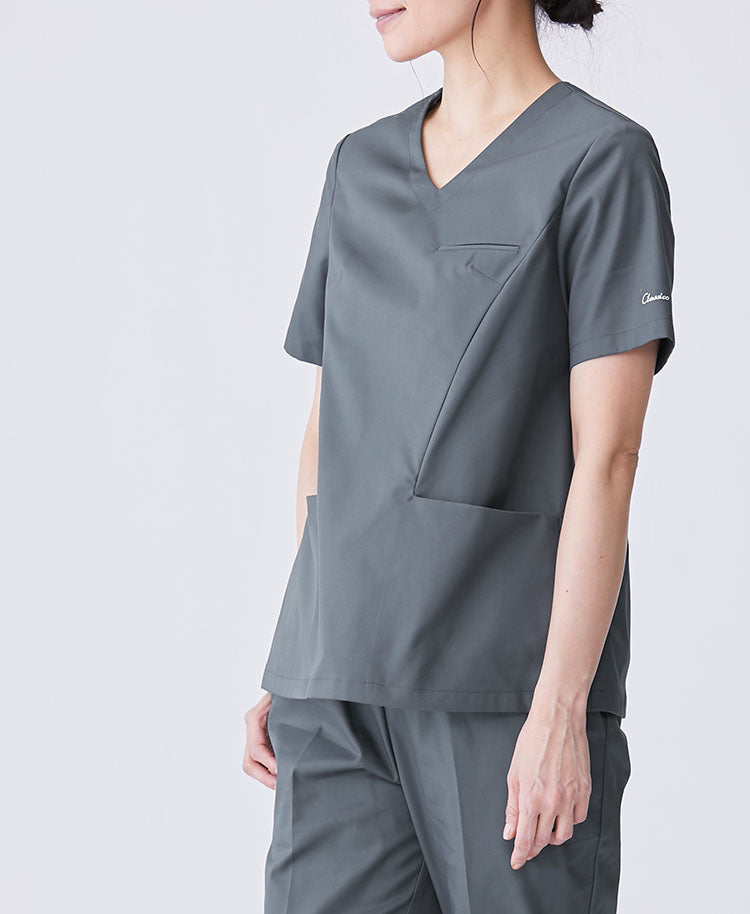 Womens' Surgical Gown: Classico Scrub Tops