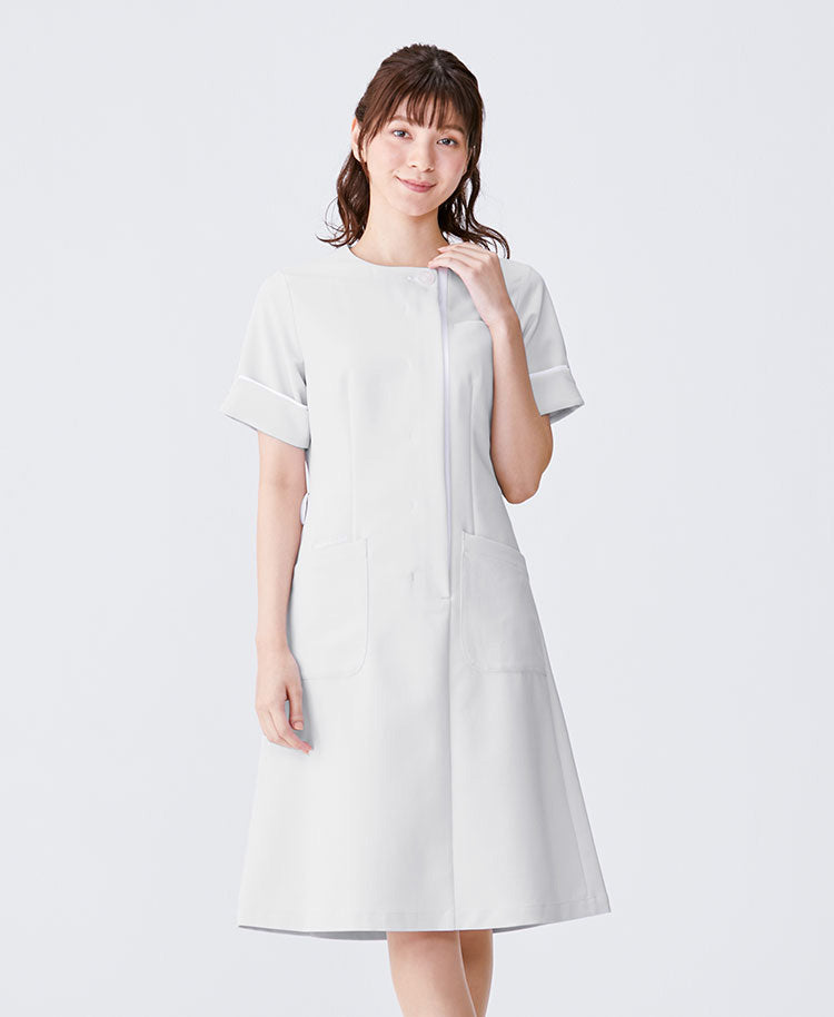 Nurse Wear: Layered Sleeve Dress