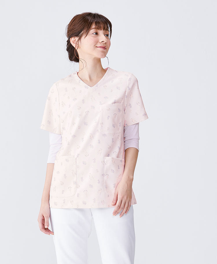 Classico Women`s Nurse Wear: Animal Scrubs