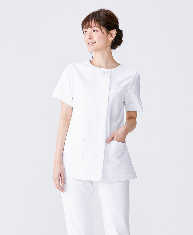 Classico Women`s Nurse Wear: Scallop Tops