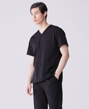 Men's Surgical Gown: Jersey Scrub Tops LUXE