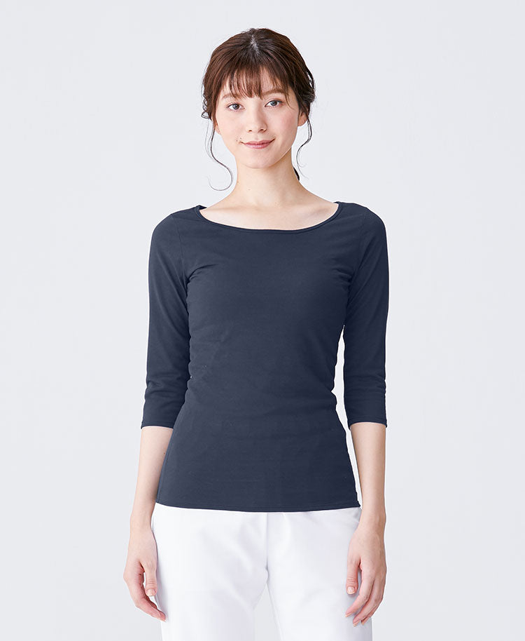 Nurse Innerwear: Three-quarter Sleeve T-shirt