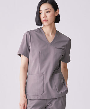 Women's Surgical Gown: Jersey Scrub Tops LUXE