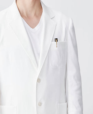 Men's Lab Coat: Light Short Coat
