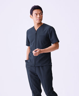 Classico Men`s Urban Zip Scrub Tops