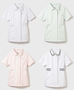 Classico Women`s Nurse Wear: Lined Collar Tops Medical > Scrubs > Nurse Wear > Lined Collar Tops > Women`s- Classico