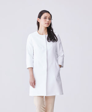 Women's Collarless Urban Coat