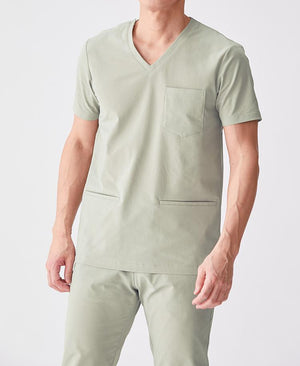 Men's Surgical Gown: Scrub Top AIR Men's Scrubs- Classico