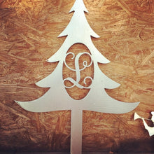 Load image into Gallery viewer, Monogram Christmas Tree