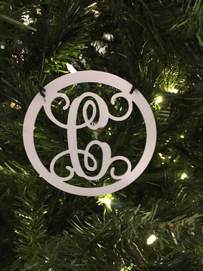Monogram Ornaments ( ON SALE LIMITED TIME)