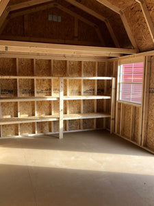 10 X 20 LOFTED BARN