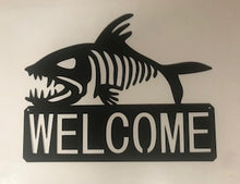 Load image into Gallery viewer, Bonefish Welcome sign