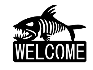 Bonefish Welcome sign