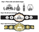 Custom Championship Belt Process