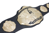 Fantasy Football Championship Belt Trophy Black Gold Undisputed Belts