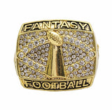 Gold Ring Fantasy Football championship trophy