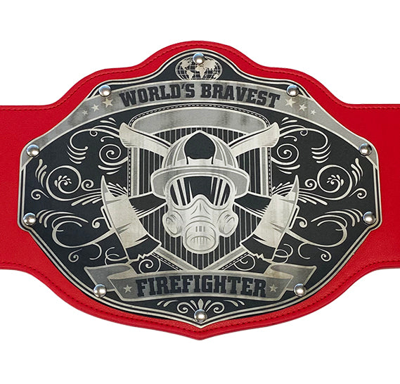 Firefighter Championship Belt - Custom Text