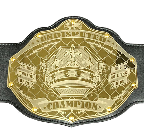 MMA Championship Belt - Custom Text