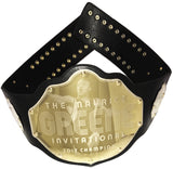 Custom Championship Belt Gold Plated
