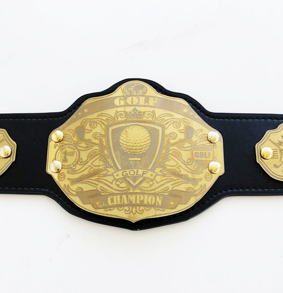 Mini Golf Championship Belt - Custom Text