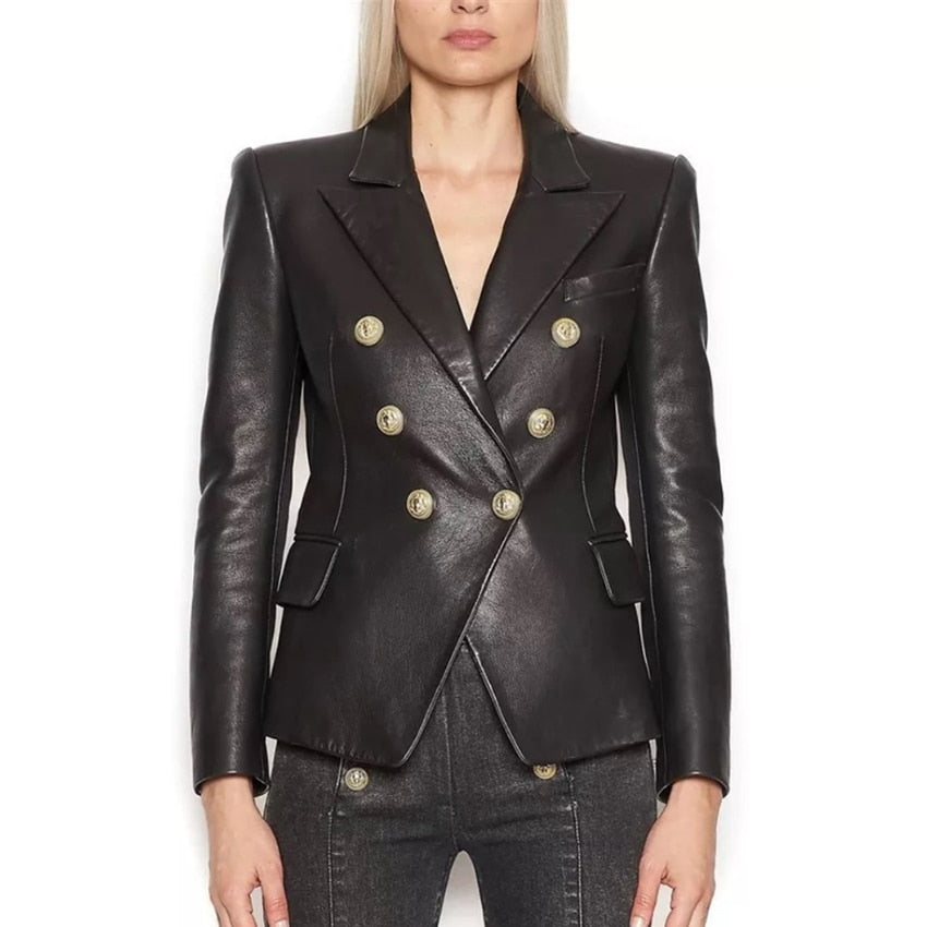 TINSLEY DOUBLE BREASTED BLAZER - La Vidaa Bella