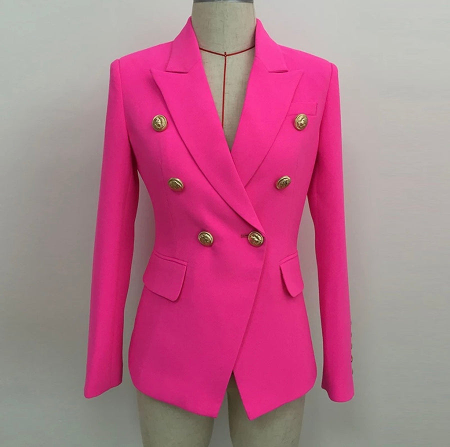 SLIM FIT BLAZER - La Vidaa Bella