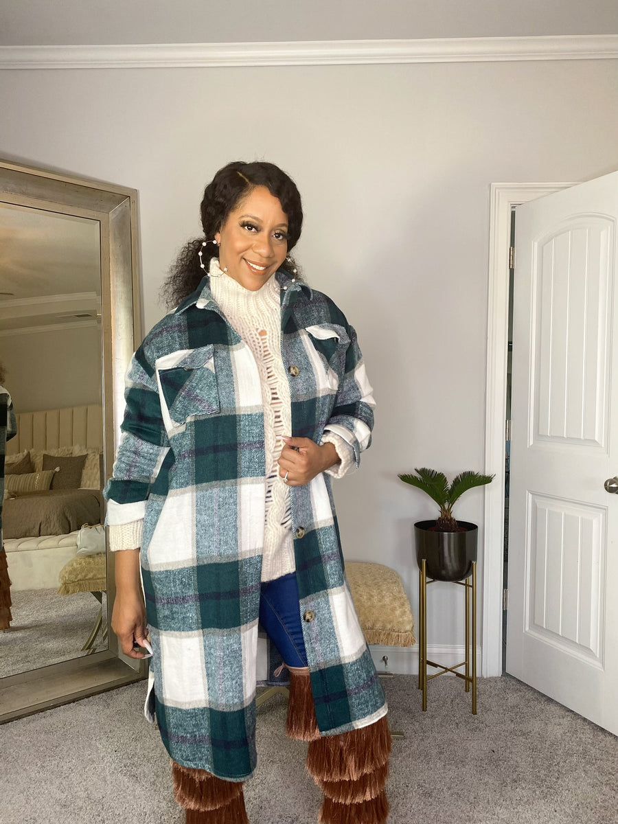 THE GABRION PLAID COAT
