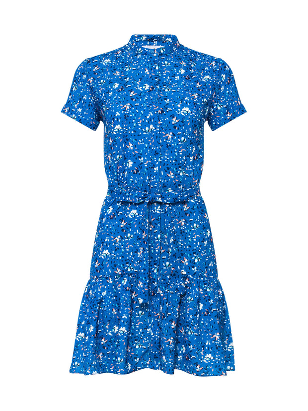 Floral Printed Chloe Dress Blue