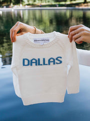 childrens ivory dallas sweater