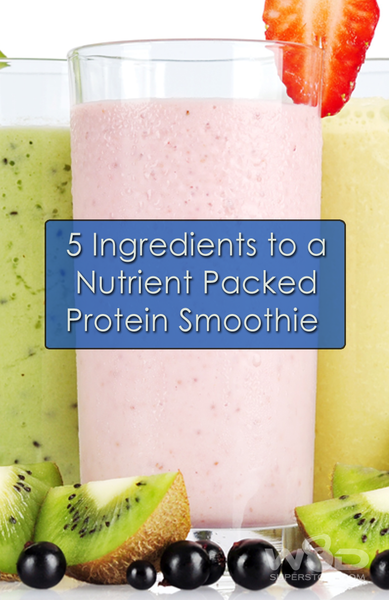5 Ingredients to a Nutrient Packed Protein Smoothie from WODSuperStore.com