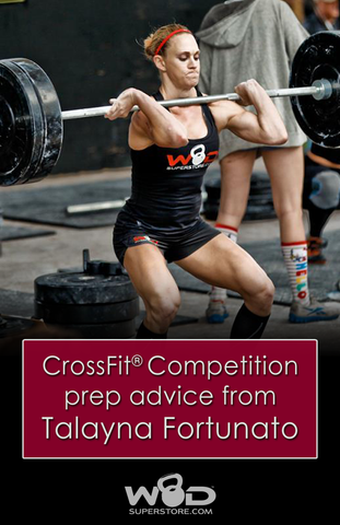 Crossfit Competition Prep advice from Talayna Fortunato