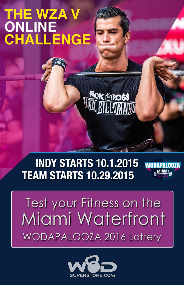 Test your Fitness on the Miami Waterfront – WODAPALOOZA 2016 Lottery | wodsuperstore.com