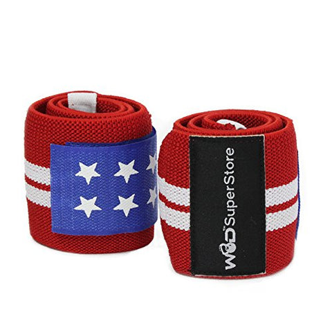 "Weightlifting 18"" Wrist Wraps"