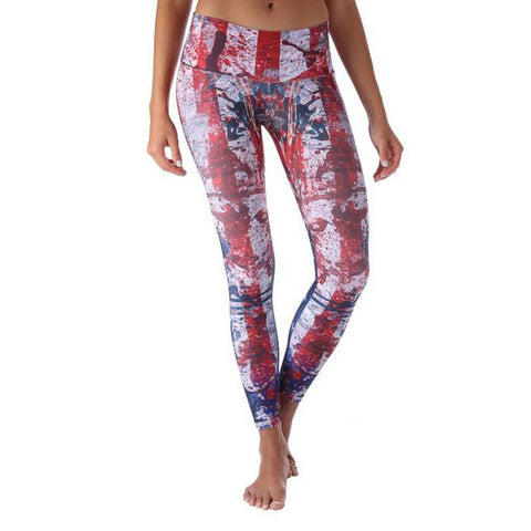 American Flag II Leggings Yoga Crossfit