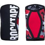 Rocktape Assassin Knee Caps in Red Camo front and Back | WODSuperStore.com
