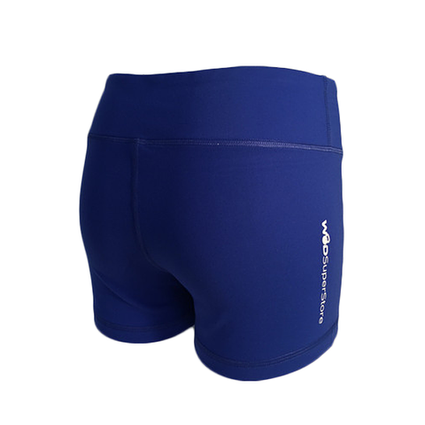 women's blue crossfit shorts from WOD SuperStore