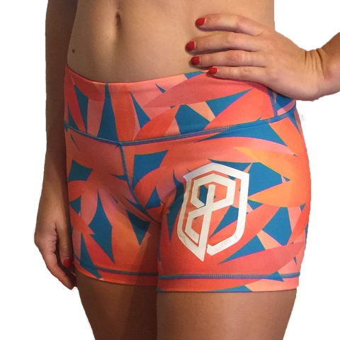 Born Primitive Double Take Booty Shorts (Birds of Paradise)