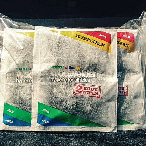 WOD Welder Cleansing Wipes 5 Pack